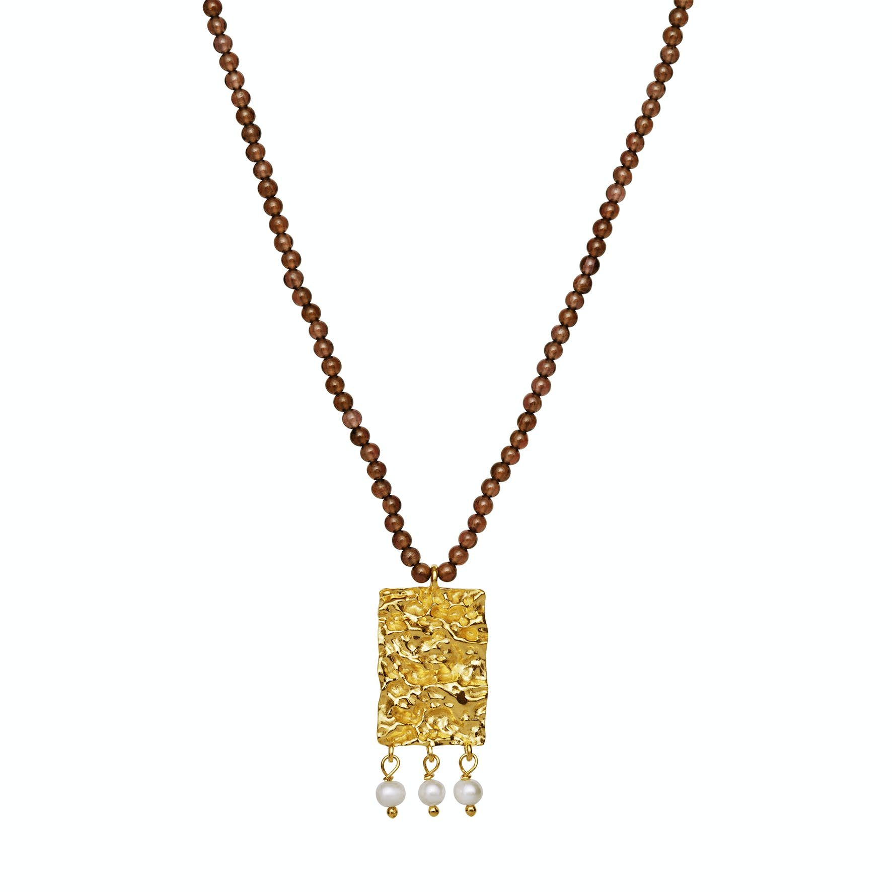 Posy Necklace from Maanesten in Goldplated-Silver Sterling 925 Blank