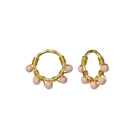 Fiona Earrings Pink Coral