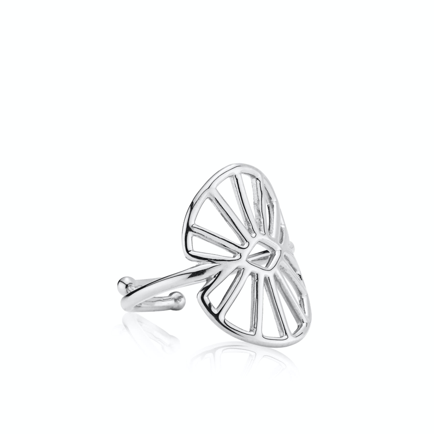 Sara by Sistie Medium Ring von Sistie in Silber Sterling 925