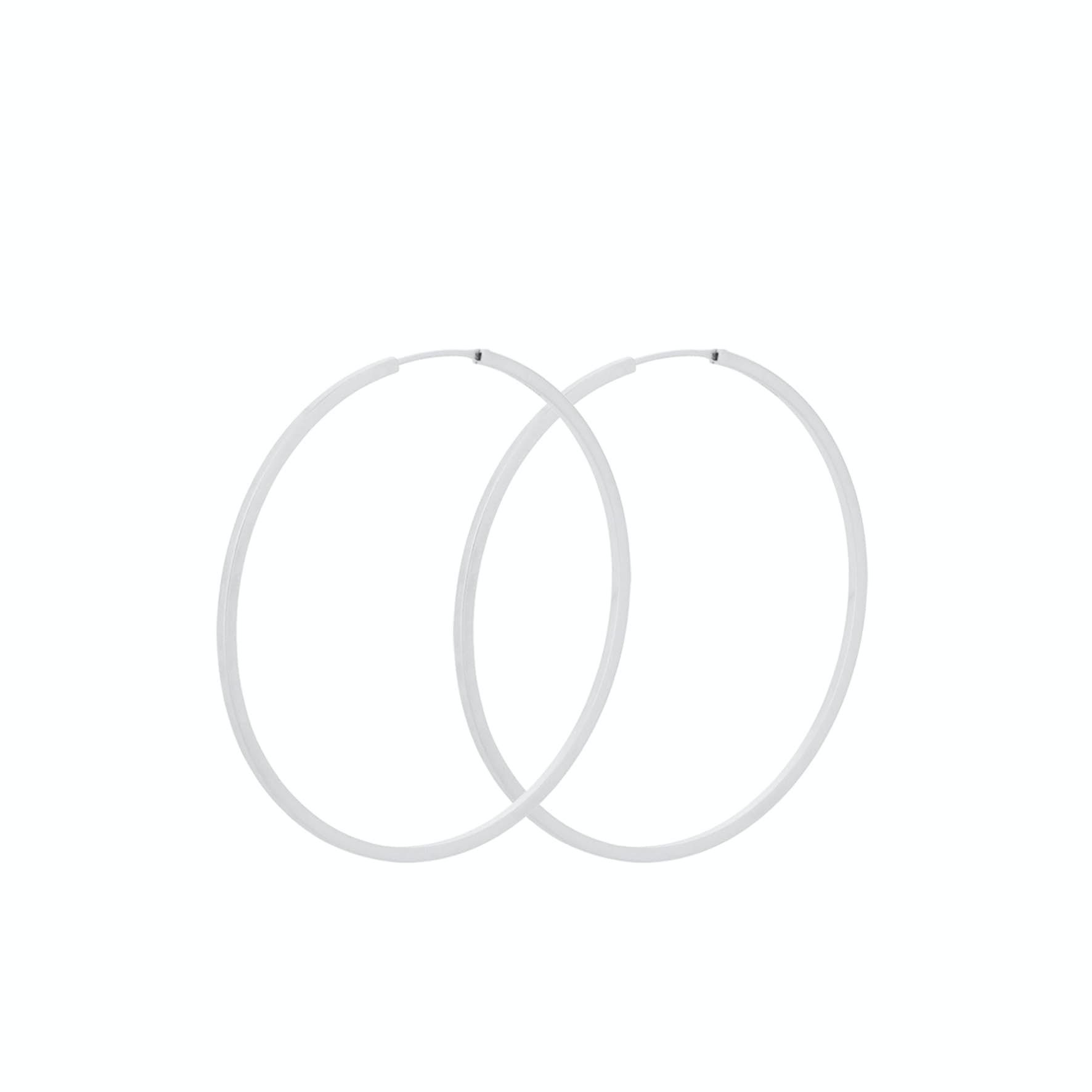 Orbit Hoops from Pernille Corydon in Silver Sterling 925