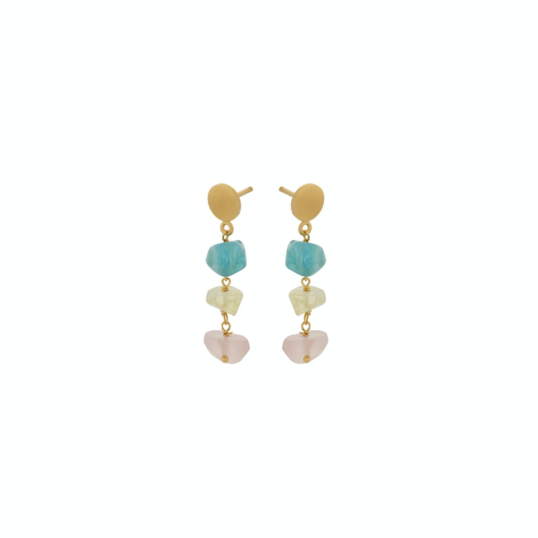 Aurora Earsticks fra Pernille Corydon i Forgylt-Sølv Sterling 925