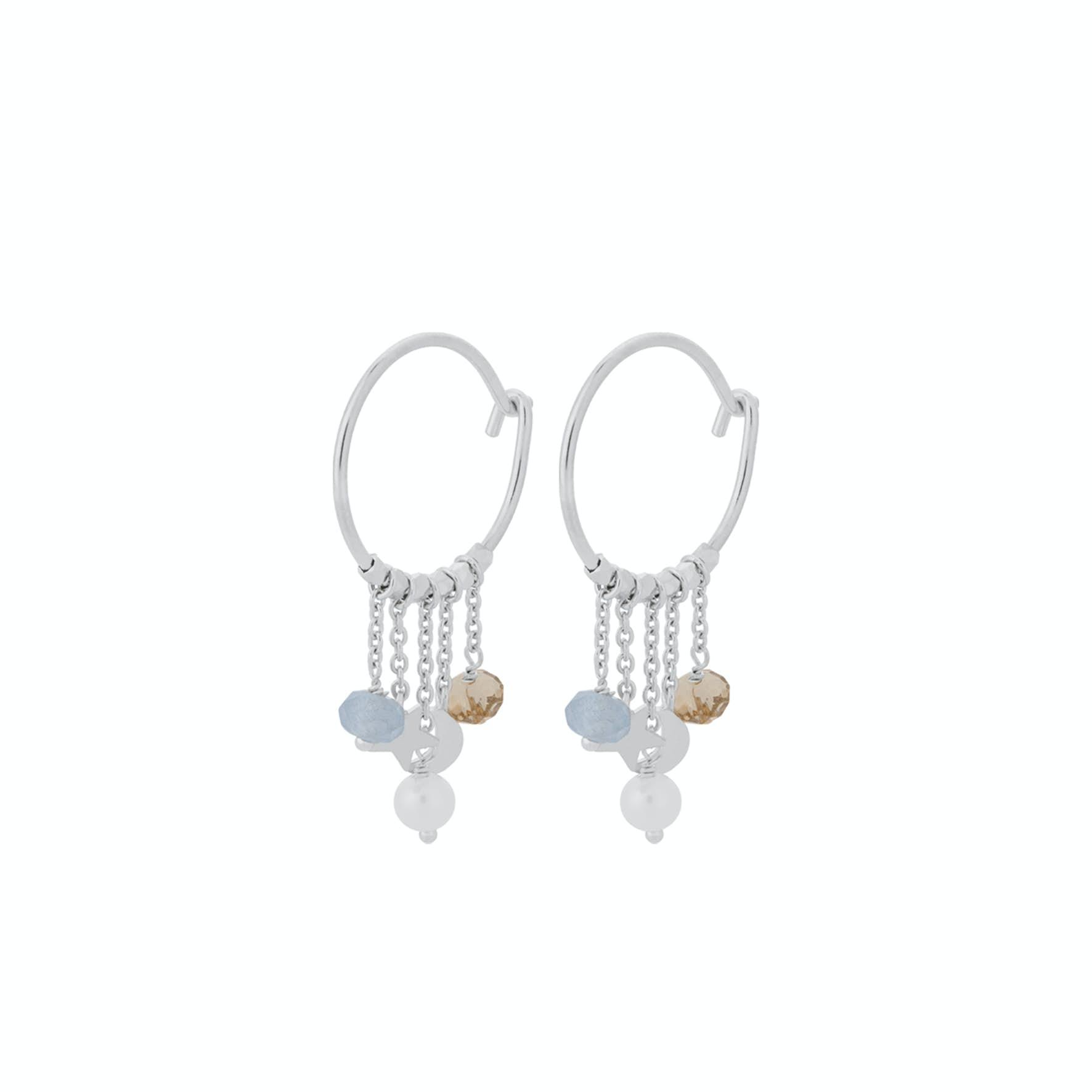 Dream Hoops fra Pernille Corydon i Sølv Sterling 925