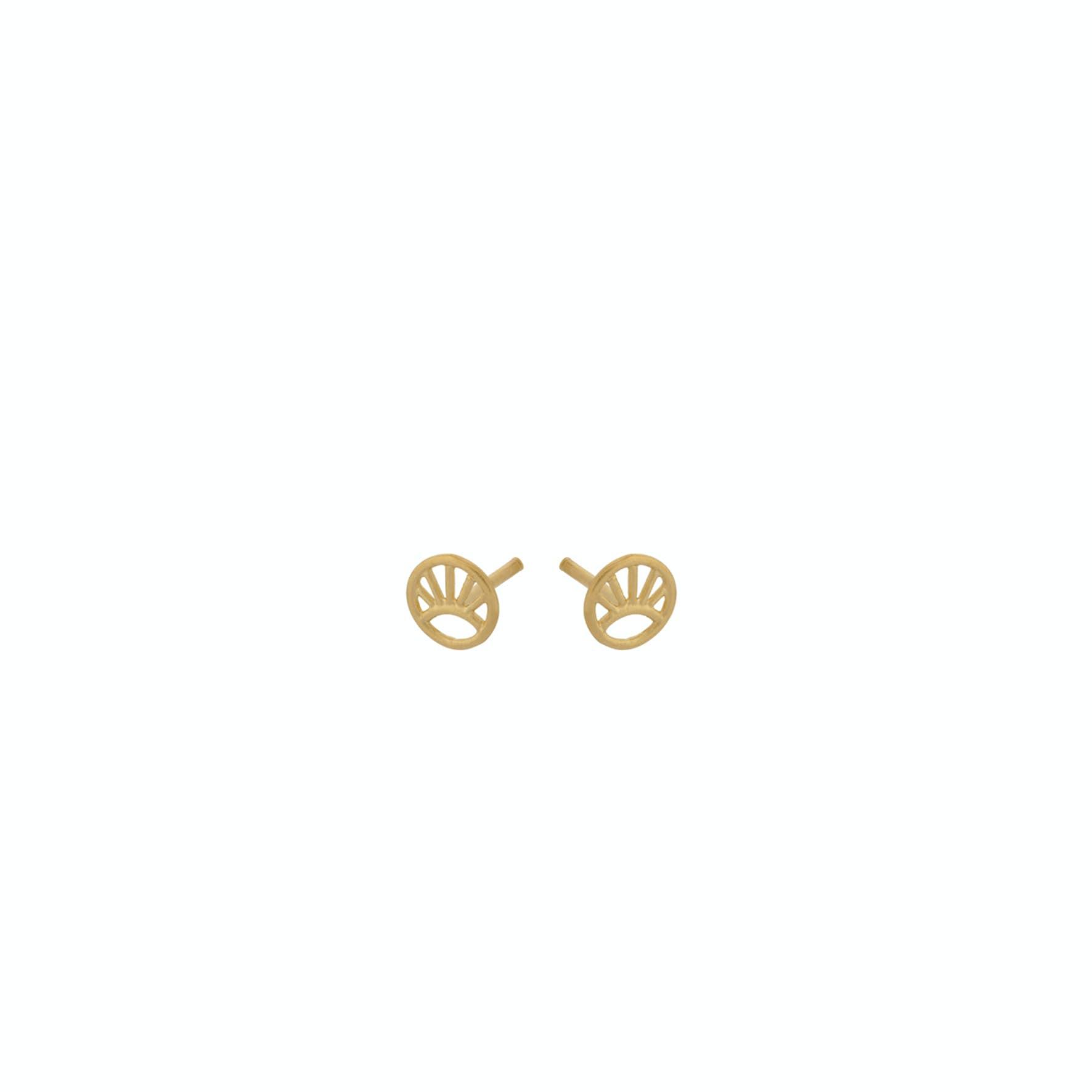 Mini Daylight Earsticks fra Pernille Corydon i Forgylt-Sølv Sterling 925