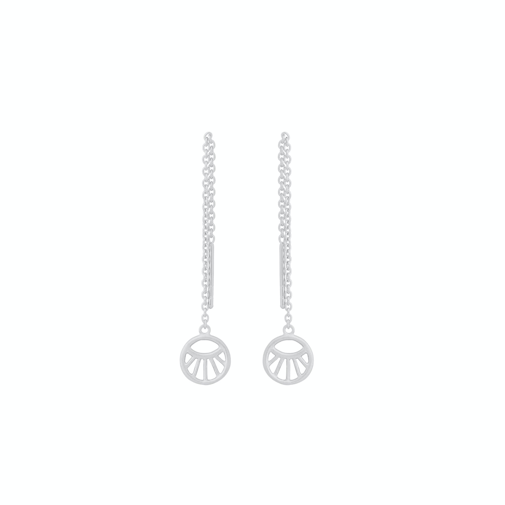 Small Daylight Earchains von Pernille Corydon in Silber Sterling 925