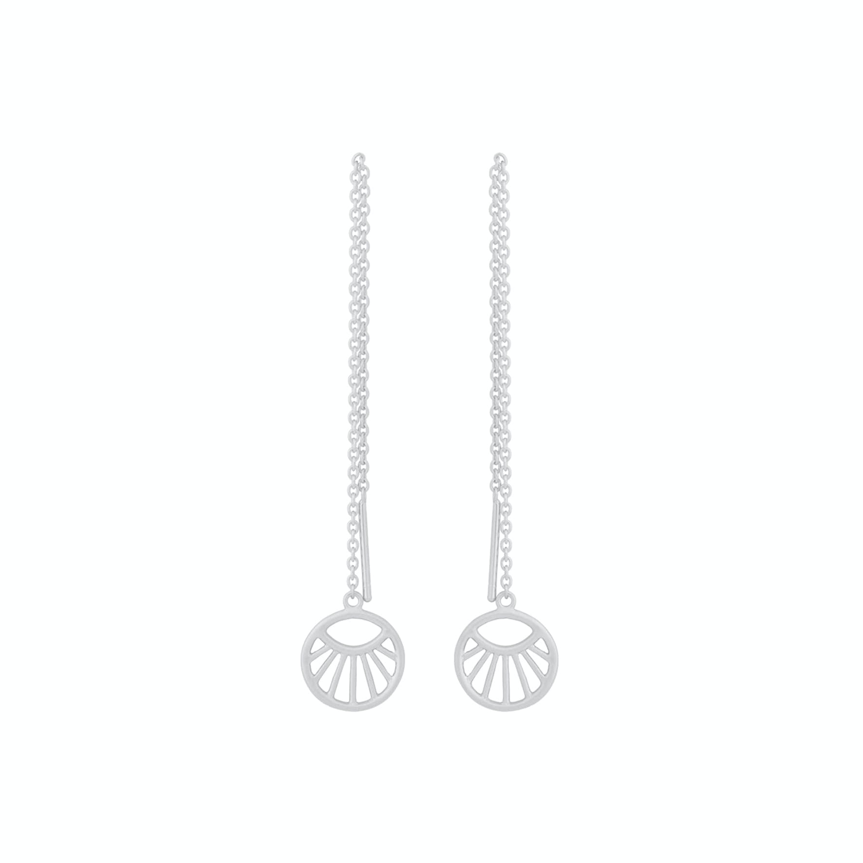 Daylight Earchains von Pernille Corydon in Silber Sterling 925