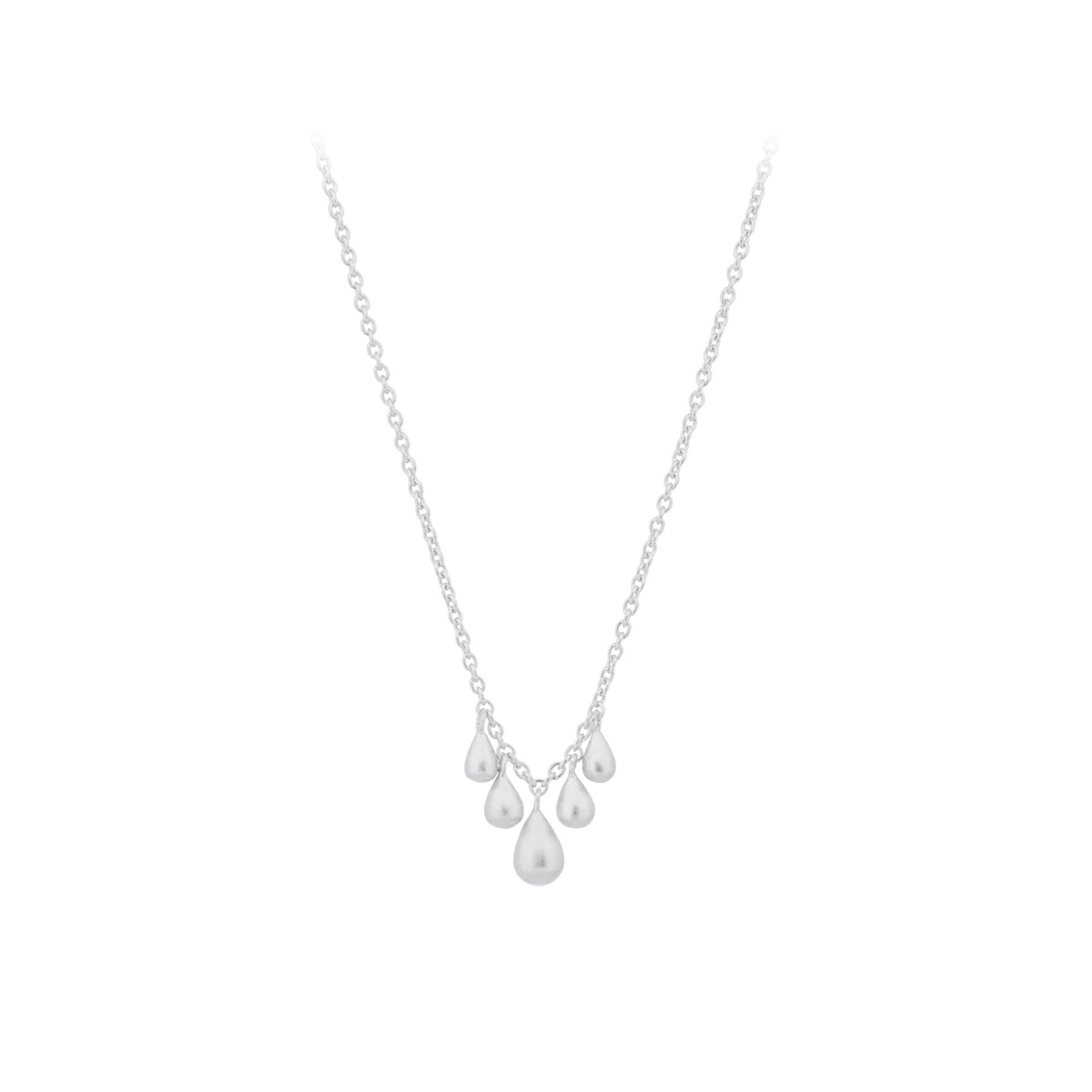 Waterdrop Necklace von Pernille Corydon in Silber Sterling 925