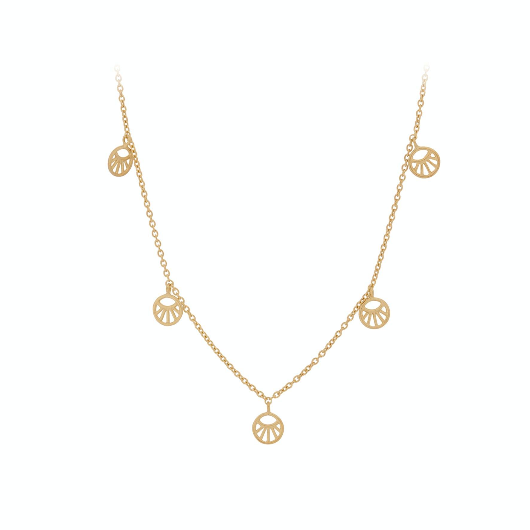 Mini Daylight Necklace fra Pernille Corydon i Forgylt-Sølv Sterling 925