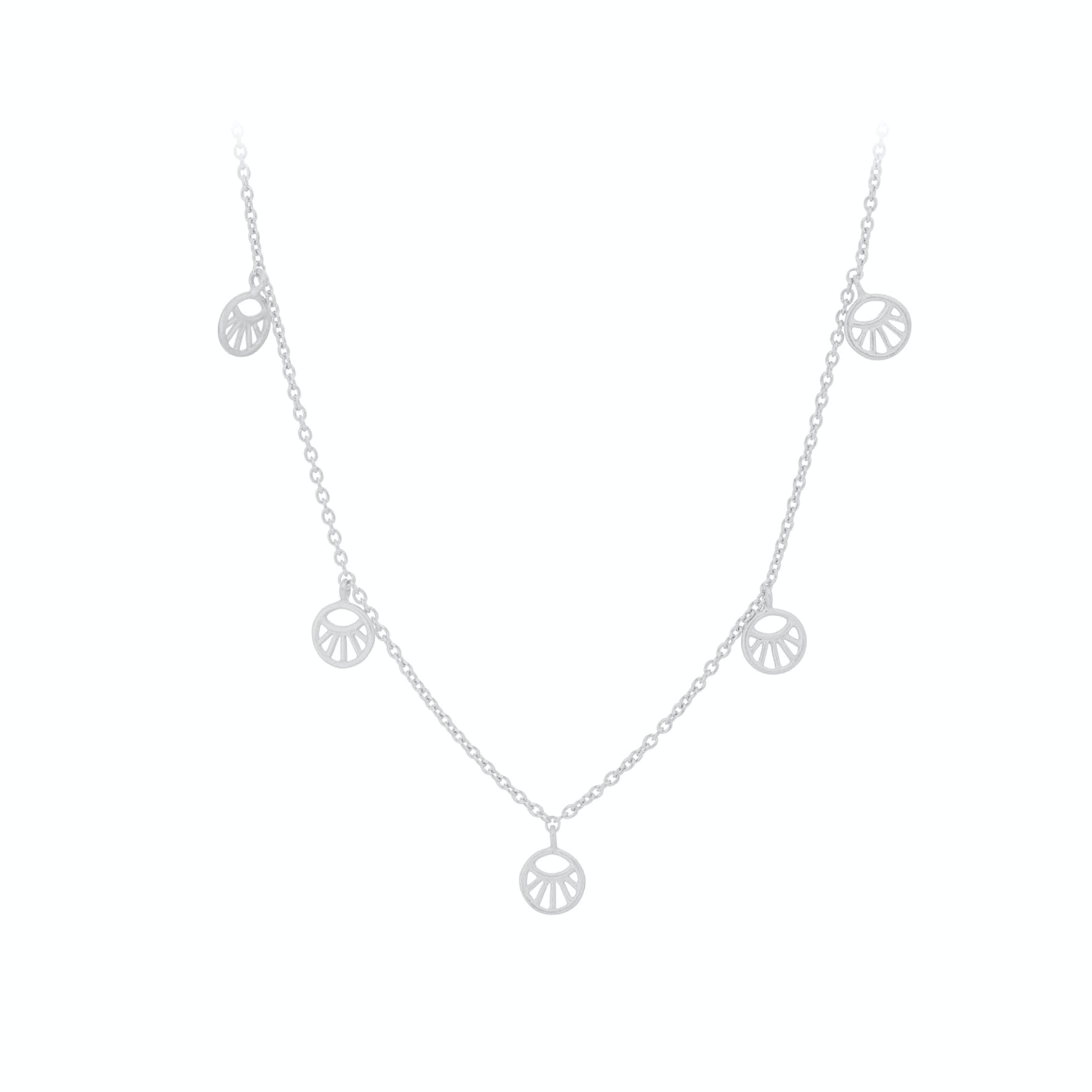 Mini Daylight Necklace from Pernille Corydon in Silver Sterling 925
