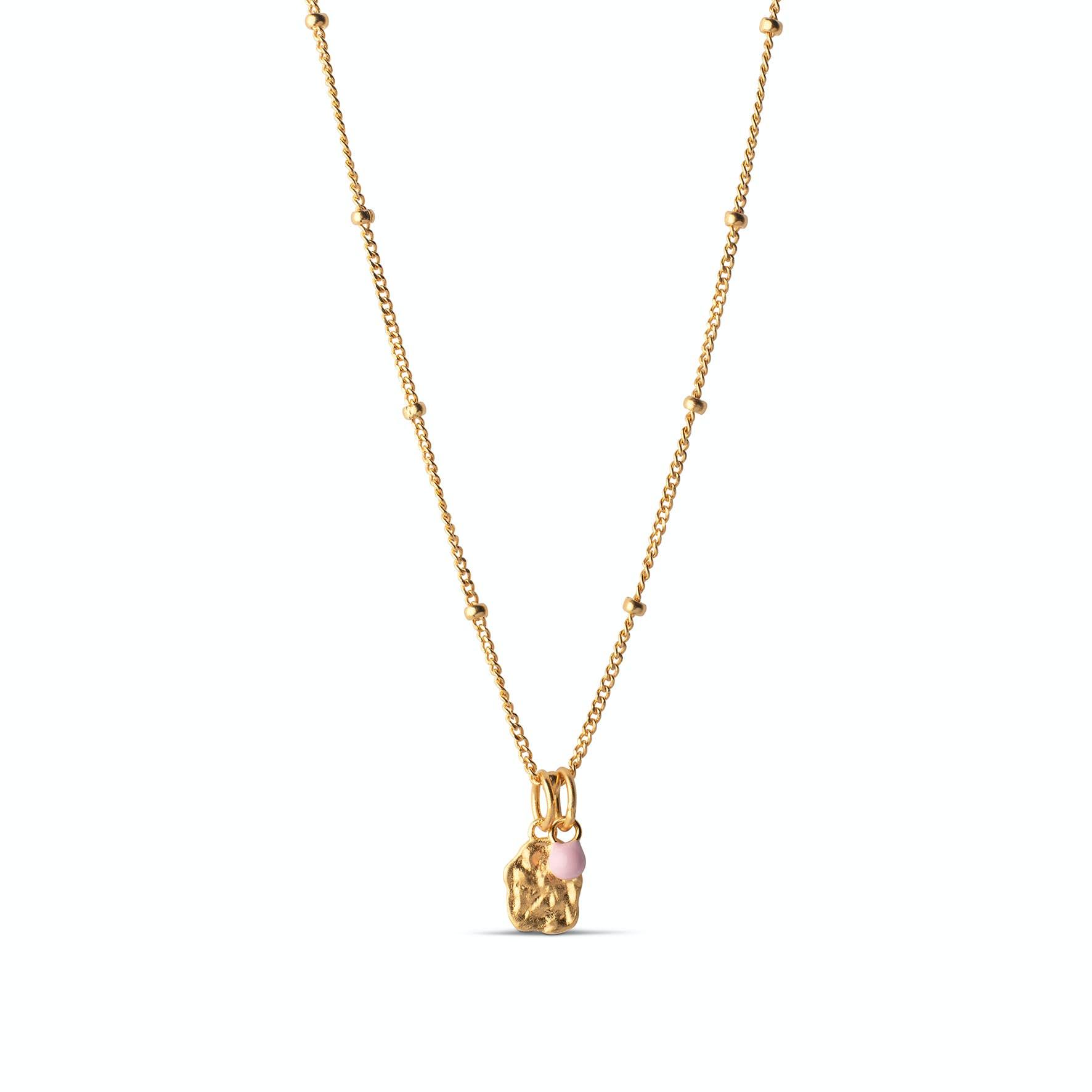 Delightful Necklace from Enamel Copenhagen in Goldplated-Silver Sterling 925