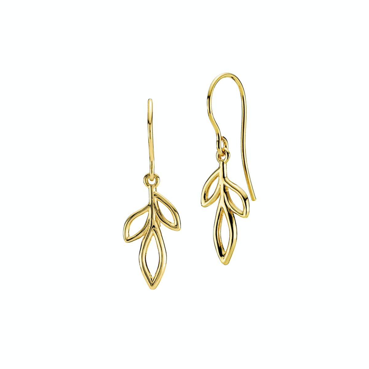 Dreamy Earrings Medium from Izabel Camille in Goldplated-Silver Sterling 925