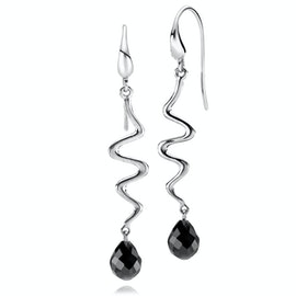 Saniya Earrings Black Onyx