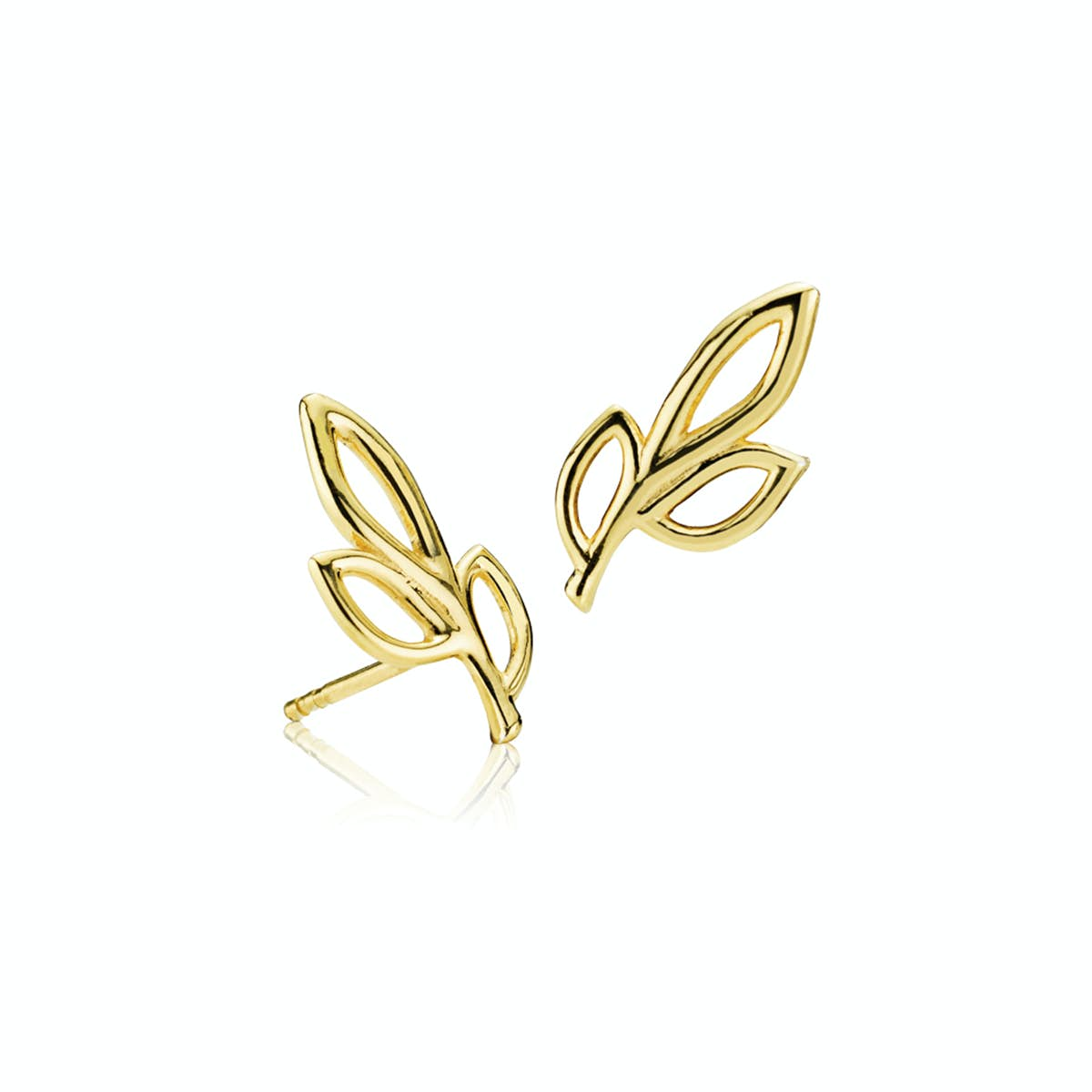 Dreamy Earsticks from Izabel Camille in Goldplated-Silver Sterling 925