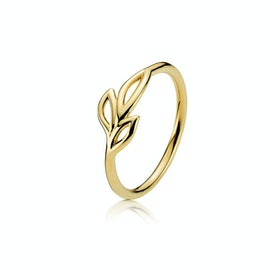 Dreamy Ring from Izabel Camille in Goldplated-Silver Sterling 925