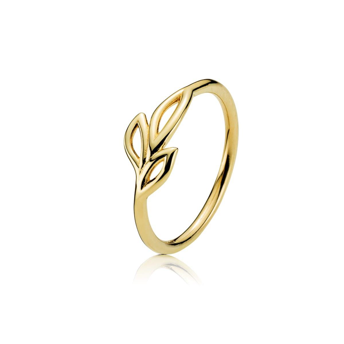 Dreamy Ring von Izabel Camille in Vergoldet-Silber Sterling 925