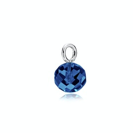 Marble Pendant Royalblue Crystal Glass