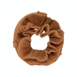 The Classic Pico Scrunchie Cognac