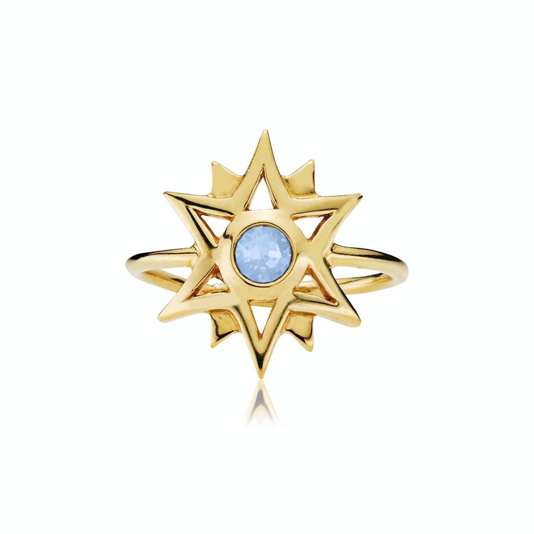 Olivia by Sistie Ring fra Sistie i Forgyldt-Sølv Sterling 925