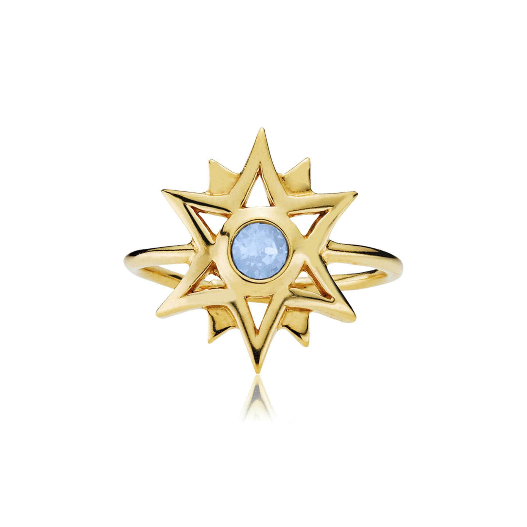 Olivia by Sistie Ring fra Sistie i Forgylt-Sølv Sterling 925
