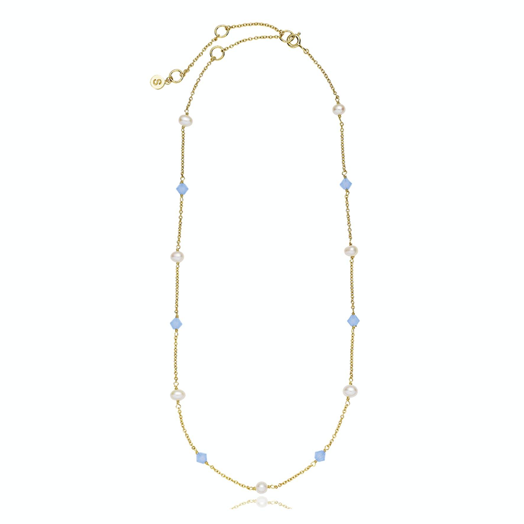 Olivia by Sistie Classic Necklace fra Sistie i Forgyldt-Sølv Sterling 925