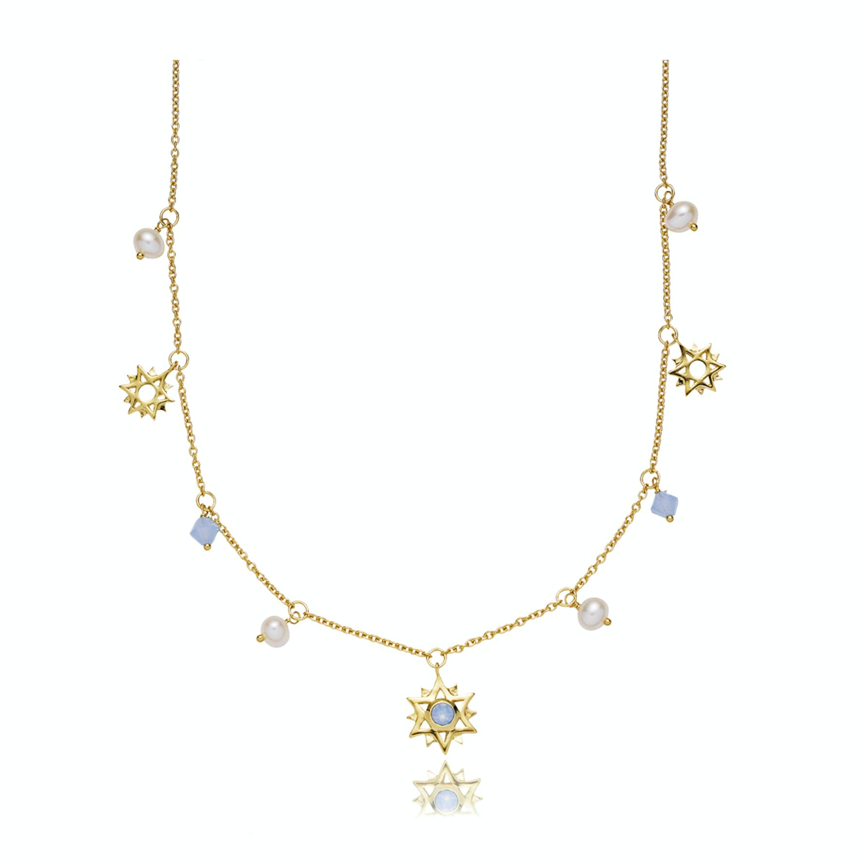Olivia by Sistie Necklace from Sistie in Goldplated-Silver Sterling 925|Blank