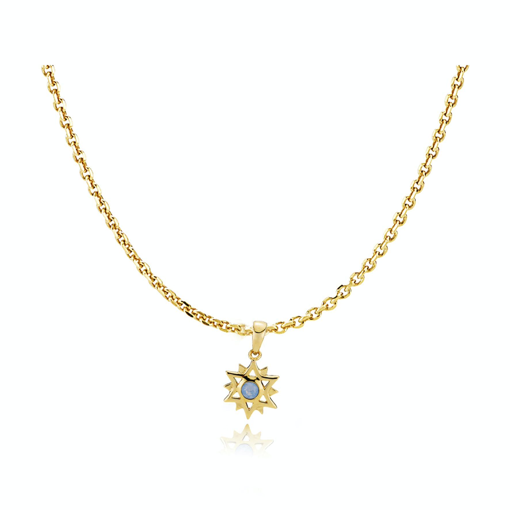 Olivia by Sistie Pendant Necklace from Sistie in Goldplated-Silver Sterling 925