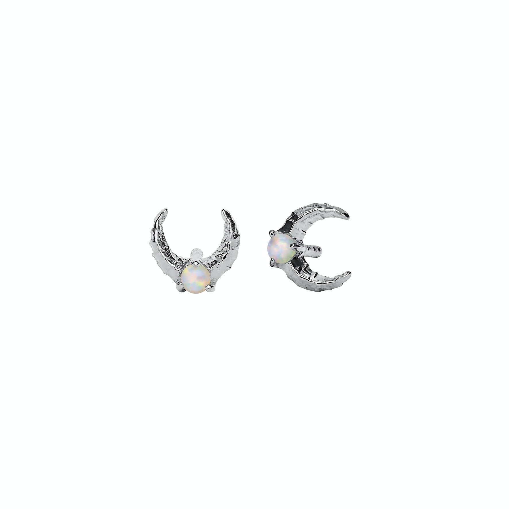 Nynette Earrings from Maanesten in Silver Sterling 925