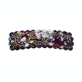 Shiny Night Hairclip Purple