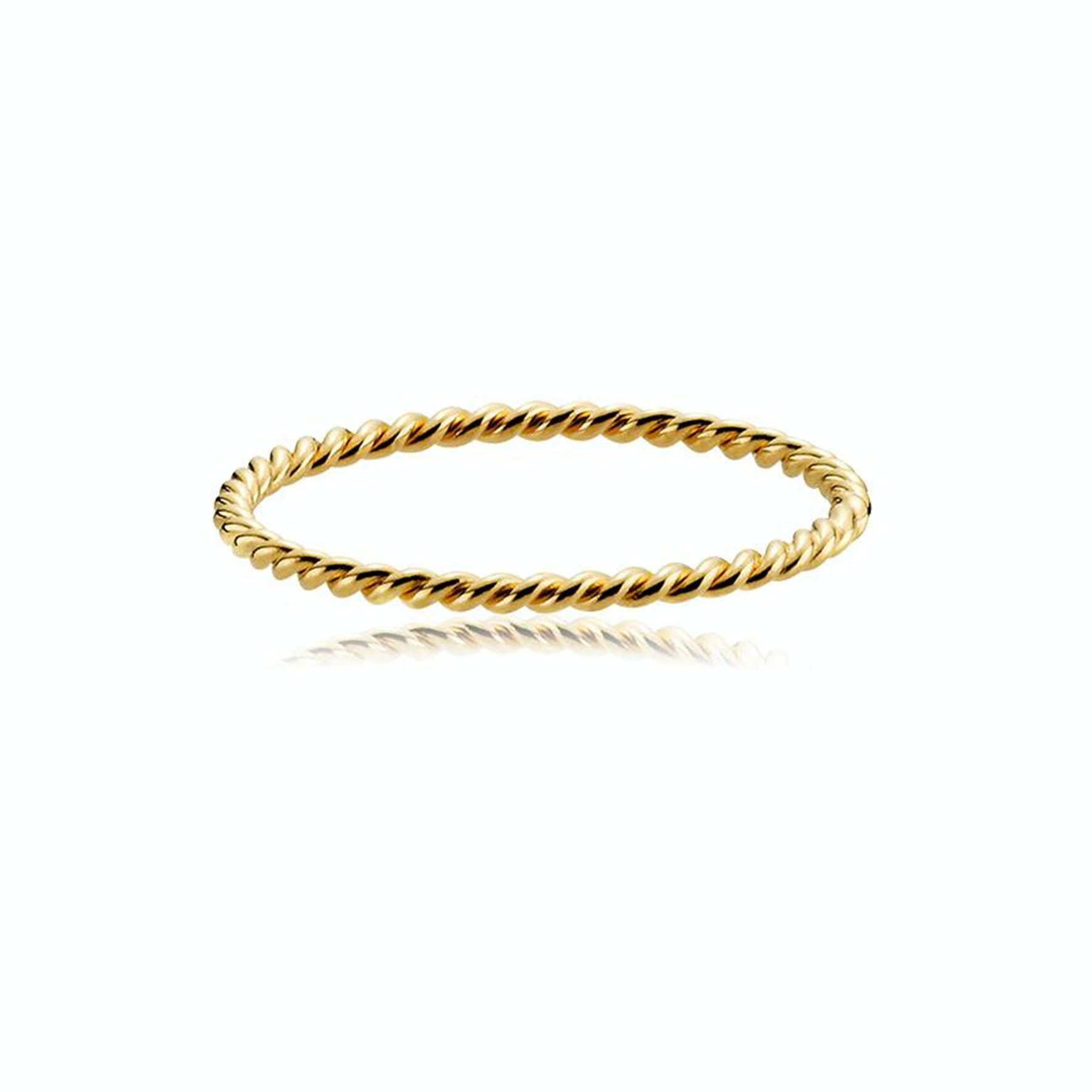 Unity Ring von Sistie in Vergoldet-Silber Sterling 925