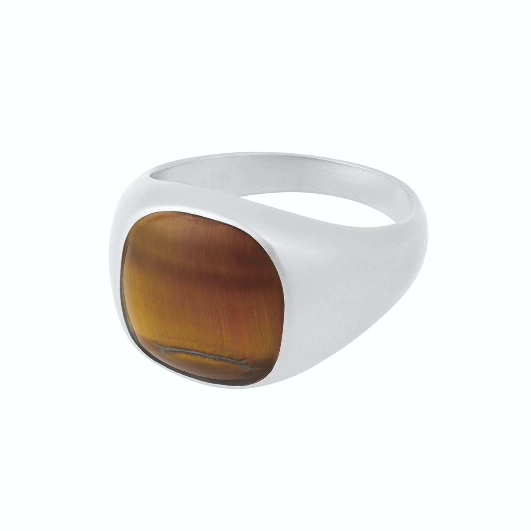 Tiger Eye Ring von Pernille Corydon in Silber Sterling 925
