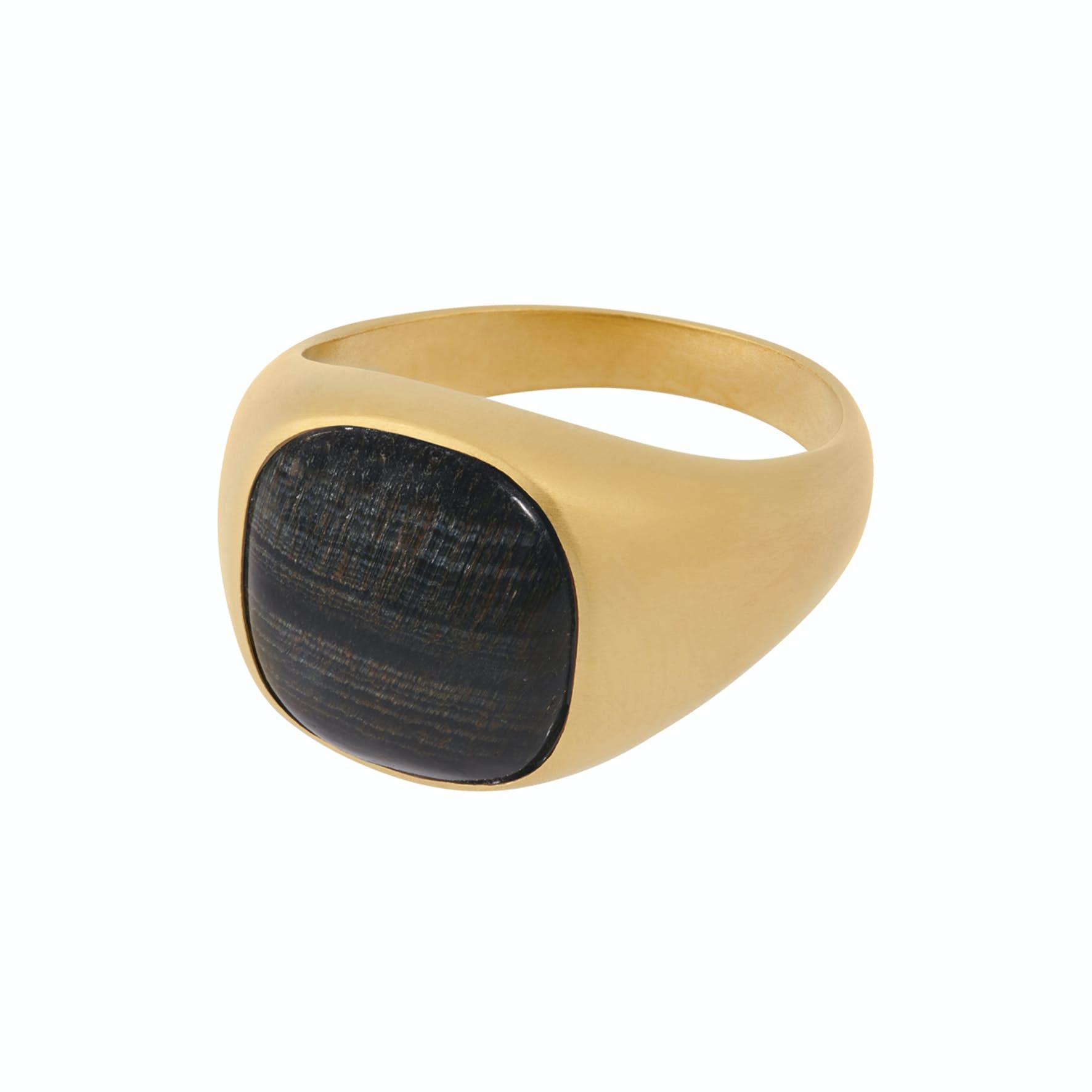 Hawk Eye Ring från Pernille Corydon i Förgyllt-Silver Sterling 925