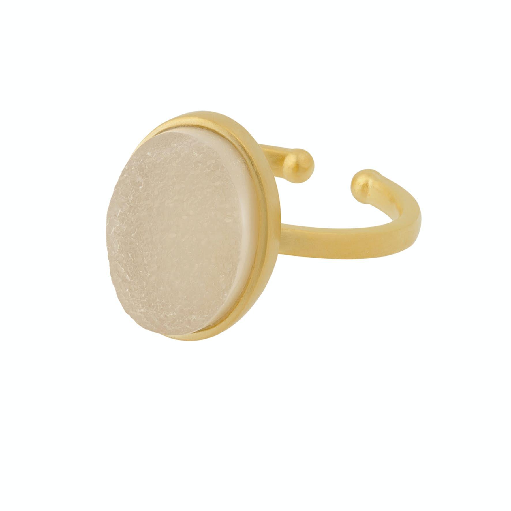 Haze Ring fra Pernille Corydon i Forgyldt-Sølv Sterling 925