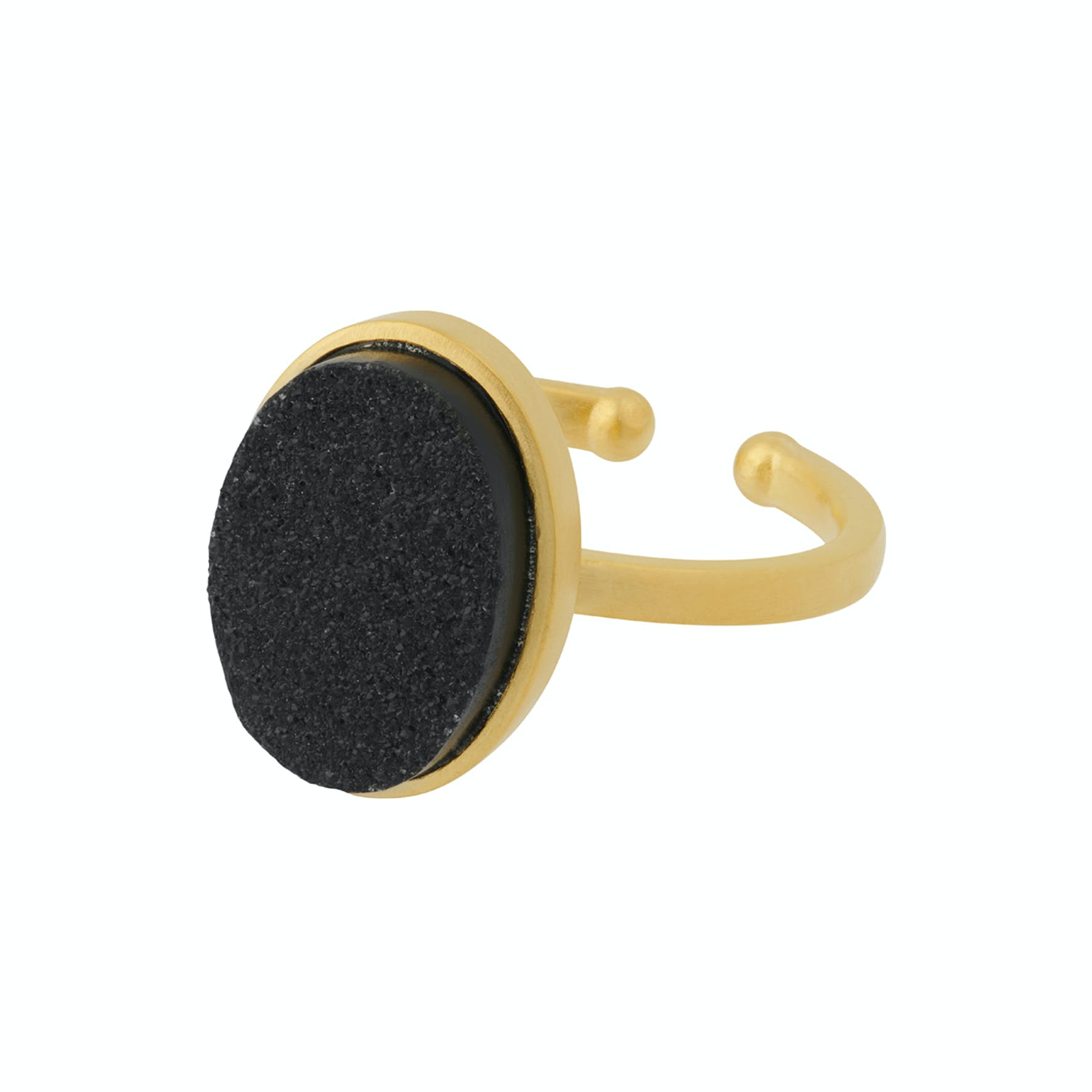 Ash Ring from Pernille Corydon in Goldplated-Silver Sterling 925