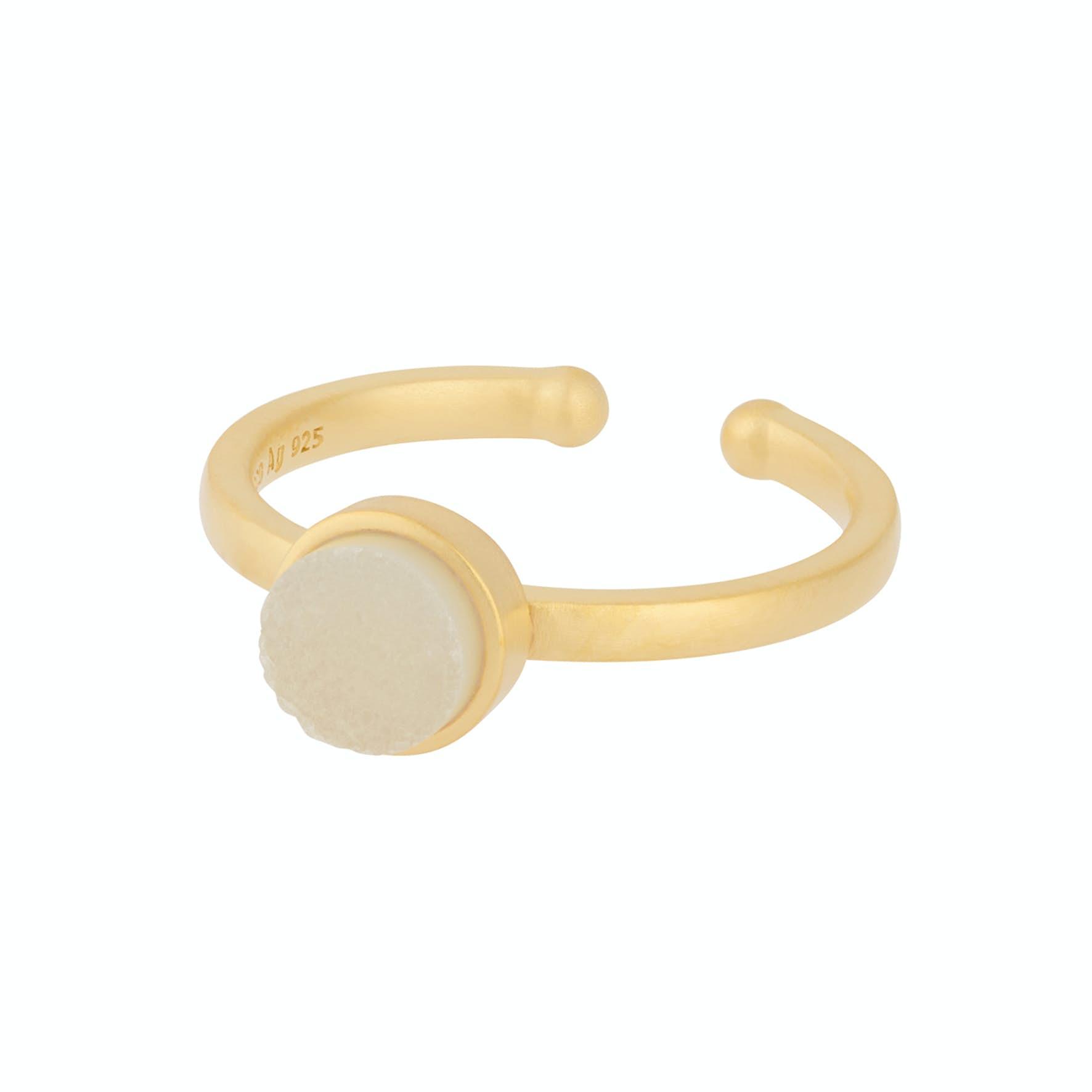 Small Haze Ring von Pernille Corydon in Vergoldet-Silber Sterling 925