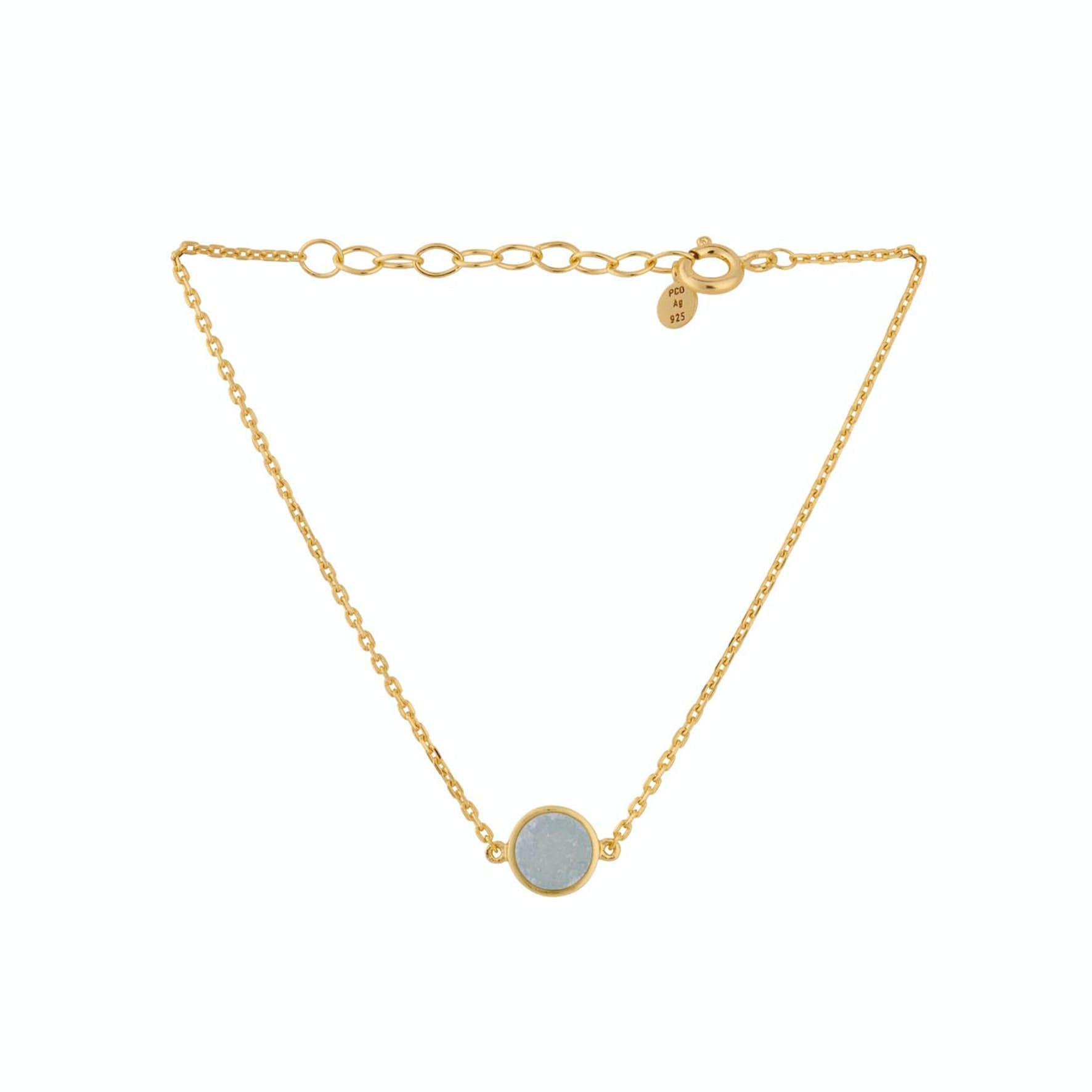 Shallow Bracelet von Pernille Corydon in Vergoldet-Silber Sterling 925
