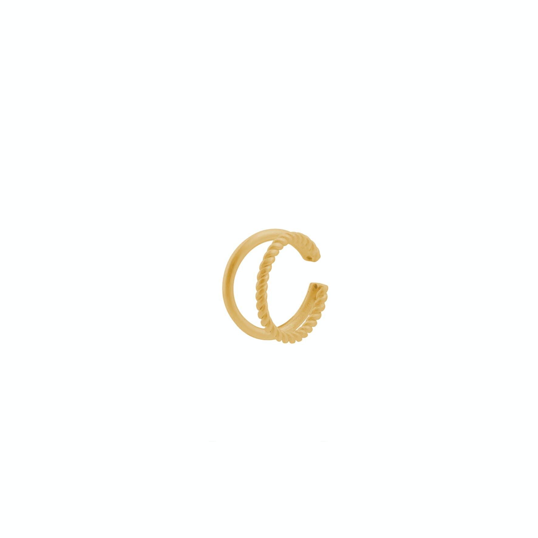 Maze Earcuff fra Pernille Corydon i Forgylt-Sølv Sterling 925