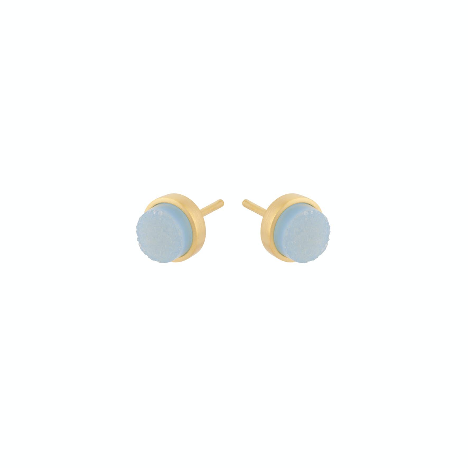 Shallow Earsticks von Pernille Corydon in Vergoldet-Silber Sterling 925
