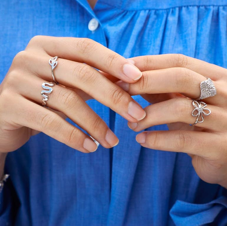 Bohemian Ring från Izabel Camille i Förgyllt-Silver Sterling 925