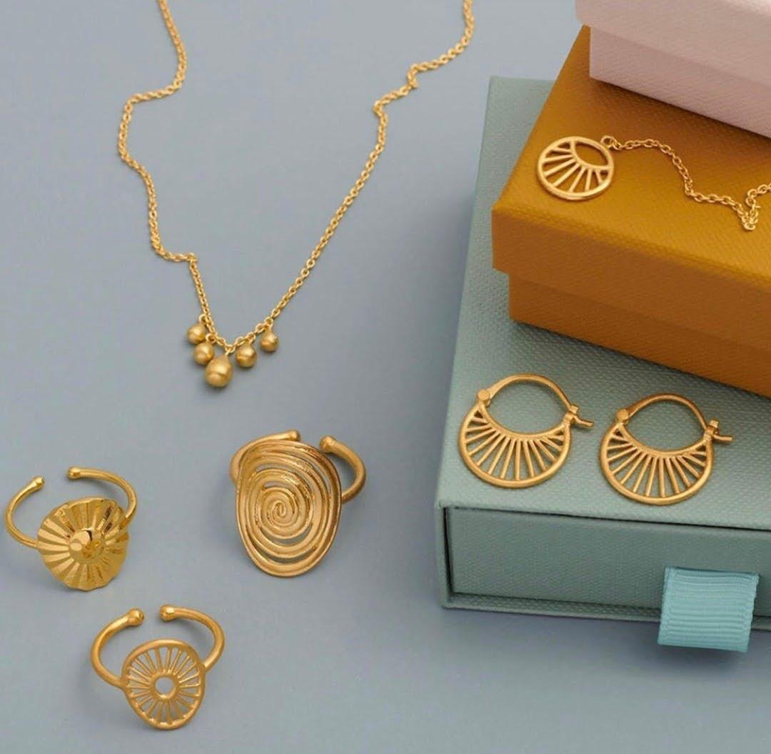 Small Daylight earrings von Pernille Corydon in Silber Sterling 925