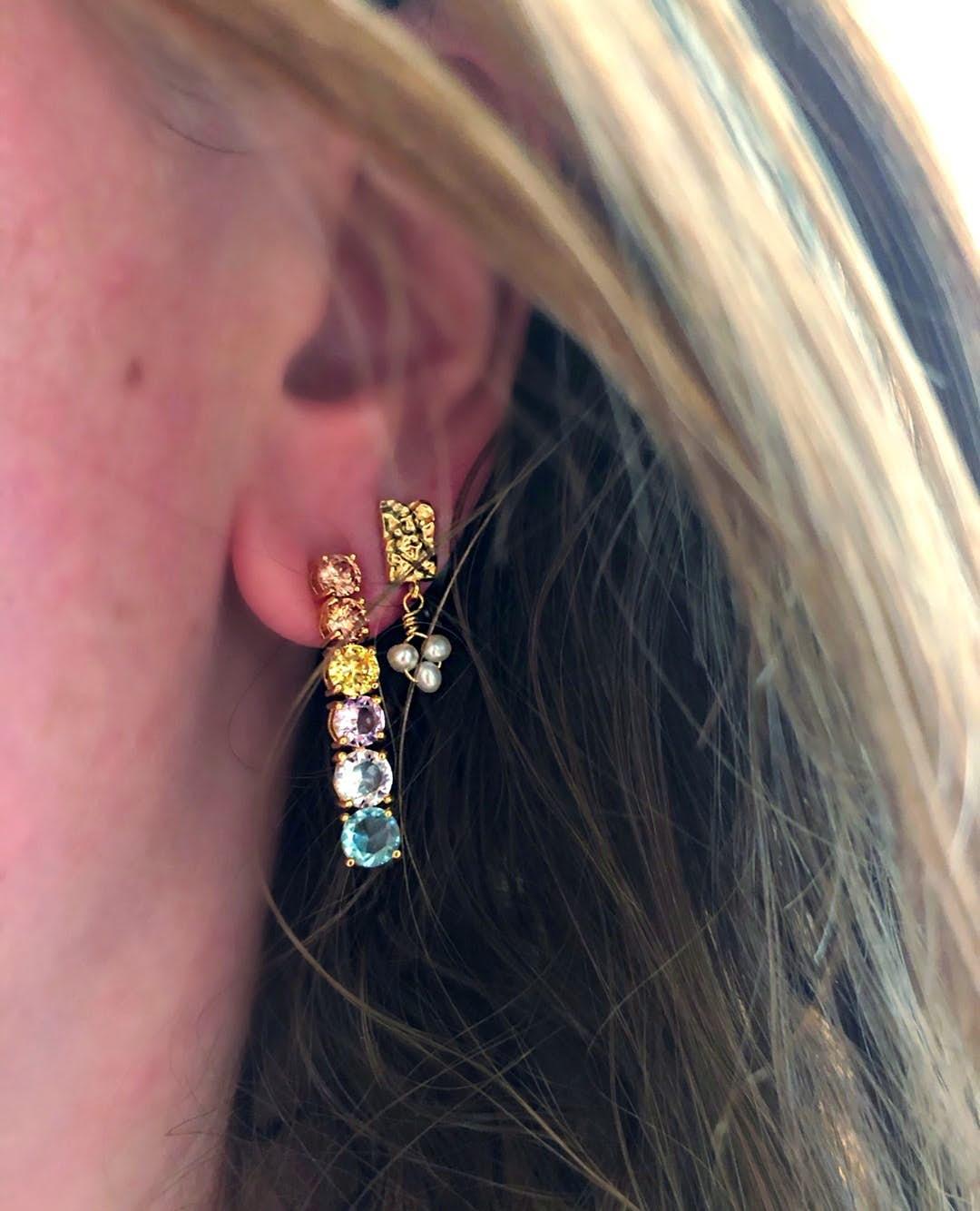 Iona earrings från Maanesten i Silver Sterling 925