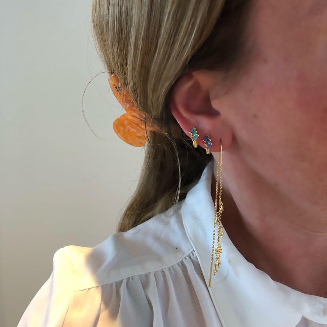 Una earlines von Maanesten in Silber Sterling 925