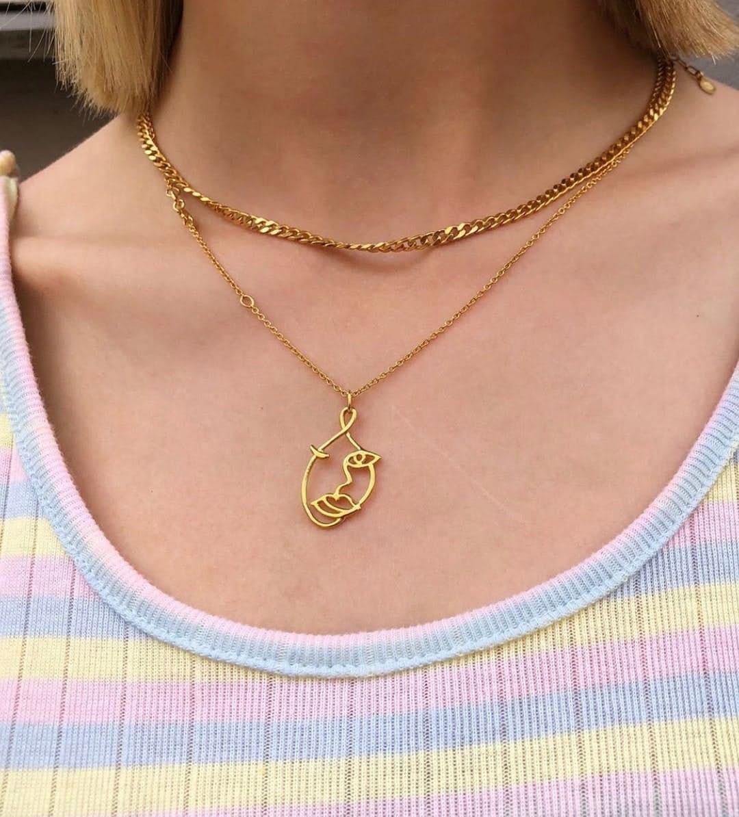 Becca necklace von Sistie in Silber Sterling 925|Blank