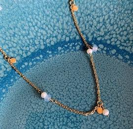 Afterglow Sea Necklace fra Pernille Corydon i Sølv Sterling 925| Matt,Blank