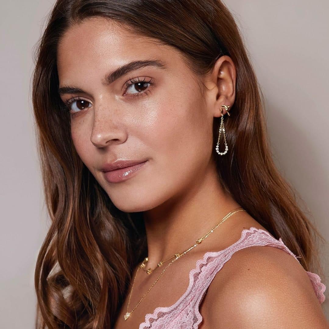 Alma Zircons earrings från A-Hjort i Silver Sterling 925