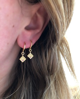 Pam creol earrings