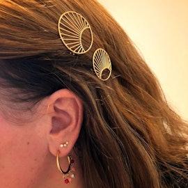 Daylight Hair Clip fra Pernille Corydon i Forgyldt-Sølv Sterling 925