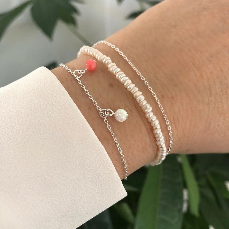 Alma Gemstone bracelet fra A-Hjort