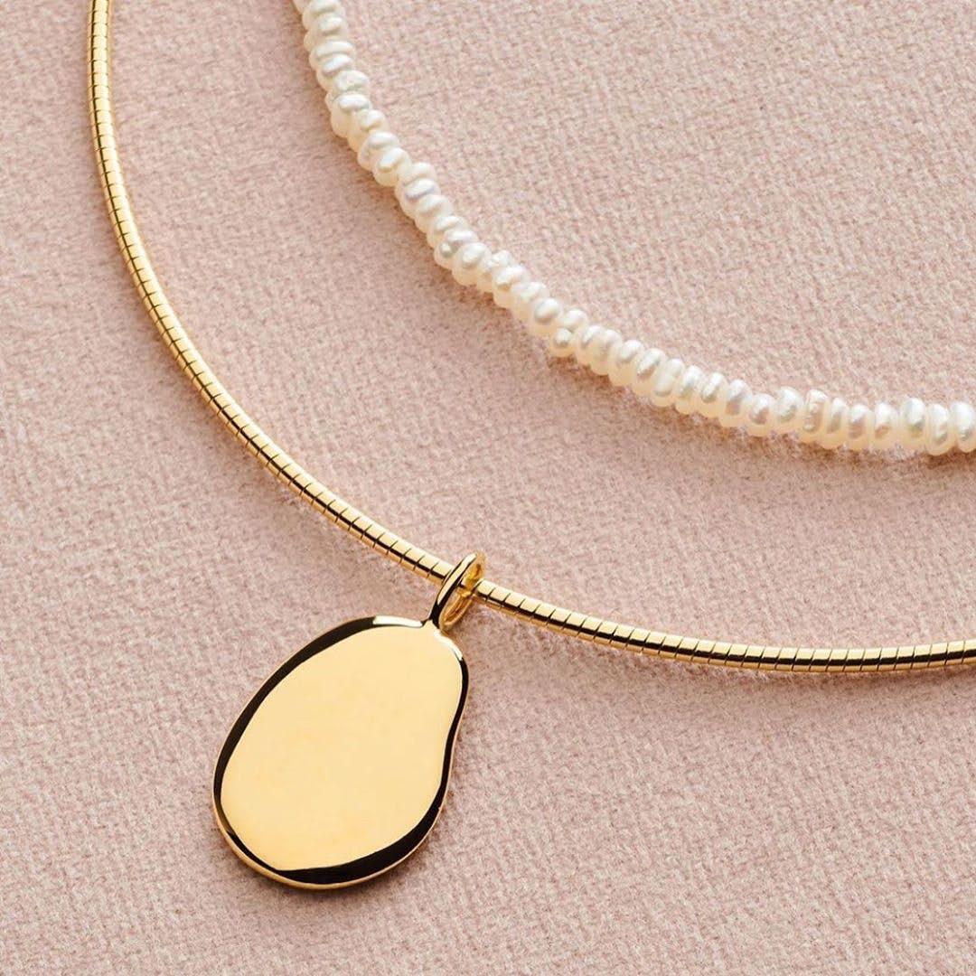 Nova Choker necklace fra Pernille Corydon i Sølv Sterling 925|Blank