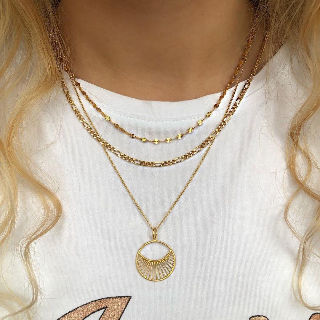 Daylight necklace fra Pernille Corydon i Sølv Sterling 925| Matt,Blank