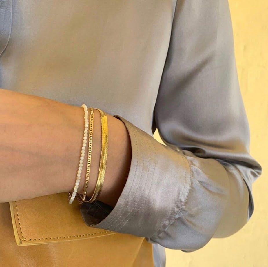 Edith bracelet fra Pernille Corydon i Sølv Sterling 925|Blank