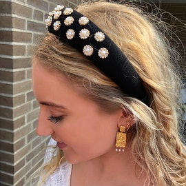 Sasja earrings fra Maanesten i Forgylt-Sølv Sterling 925